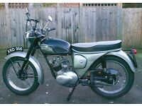 Rare vintage iconic Triumph Tiger Cub T20 for sale