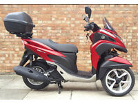 Yamaha Tricity 125, Immaculate condition