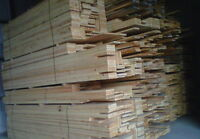 planche de pin blanc (toutes sortes)