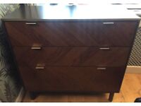 Made com, New ex display Belgrave Chest of Drawers | Dark Stained Oak | RRP £549