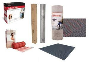 NuHeat nVent Floor Radiant Heat Cable, Standard Mat, Mesh, Membrane  - All Sizes, Types and Models