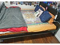 two single beds with mattress