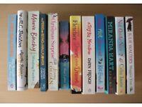 Lot of 12 Books including Giovanna Fletcher, Jenny Colgan, Julie Walters and MC Beaton novel humour