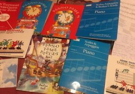 Collection of piano books for a beginner. Great condition