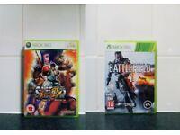 Super Street Fighter IV Battlefield 4 IV XBOX 360 GAMES