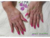 ACRLYLIC NAIL EXTENSION