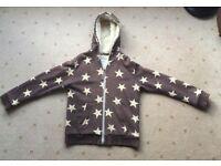 """Boden boys """"Stars"""" coat, Sherpa fleece, jacket, from aged 7 years - Larne/Belfast, £6"""