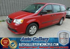 2012 Dodge Grand Caravan SE *Low Kms!