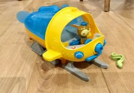 OCTONAUTS GUP S POLAR EXPLORATION VEHICLE WITH FIGURES, WORKING WITH SOUNDS, CBEEBIES TOY