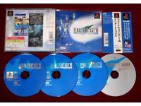 PS1 Game FINAL FANTASY VII 7 INTERNATIONAL NTSC-J Japan Import FFVII