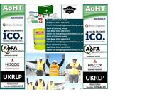 TRAFFIC MARSHALL/BANKSMAN / FIRST AID AT WORK L3 / EMERGENCY FIRST AID L2 / FIRE MARSHALL LEVEL 1 &2