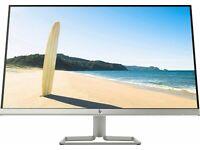HP 27FW Full HD 27; IPS LCD Monitor - 75Hz 5ms HDMI/VGA AMD FreeSync - Black