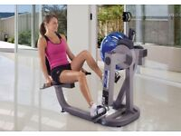 Recumbent Fluid Cycle XT E720 Exercise Bike by First Degree Fitness, in very good condition