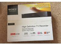 Sony HD Hard Disc Recorder