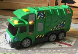 Garbage truck , rubbish , recycling lorry