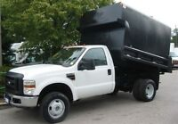 2009 Ford F-350 4x4 diesel 9 ft chipper dump