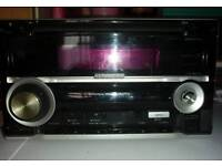 Kenwood double din car cd radio and MP3 player
