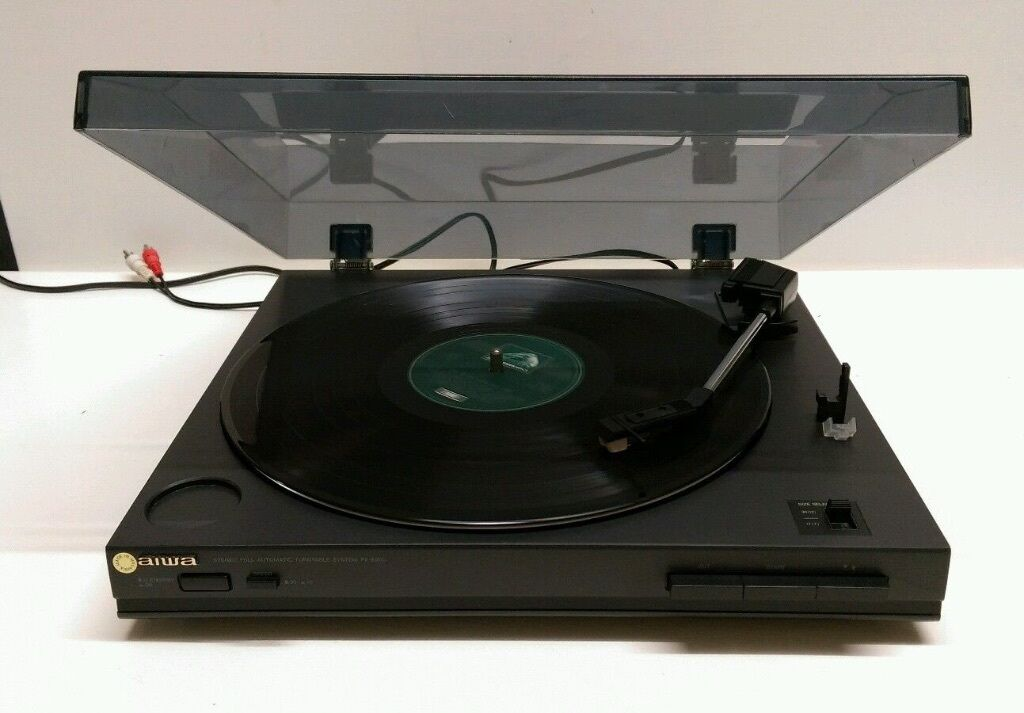 Aiwa Px E800 Record Player Turntable With Built In Pre