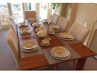 Royal Doulton Tonkin Fine Bone China Dinner Service, Plates,Bowls, Platter, Gravy Boat,Cups, Serving