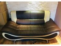 Set of 3 sofas 3 seater 2 seater & 1 seater, mint condition