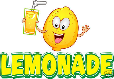 Lemonade Concession Food Truck Van Decal 14 Vinyl Menu Food Sign Sticker