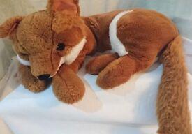 Large Fox Soft Toy