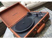 Crosley Orange Record Player