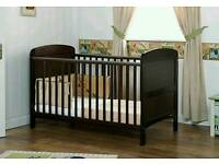 Grace Cotbed and Mattress from Obaby Mothercare - can deliver