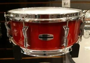Caisse claire Yamaha Stage Custom Snare Drum 14x5.5 usagée-used