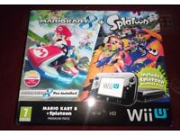 Nintendo Wii U 32 GB HD Complete Games Premium Pack Box & Two Preinstalled Games & Two Extra Games
