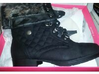 ladies boots size 8