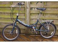 Raleigh Evo 7SP folding bike