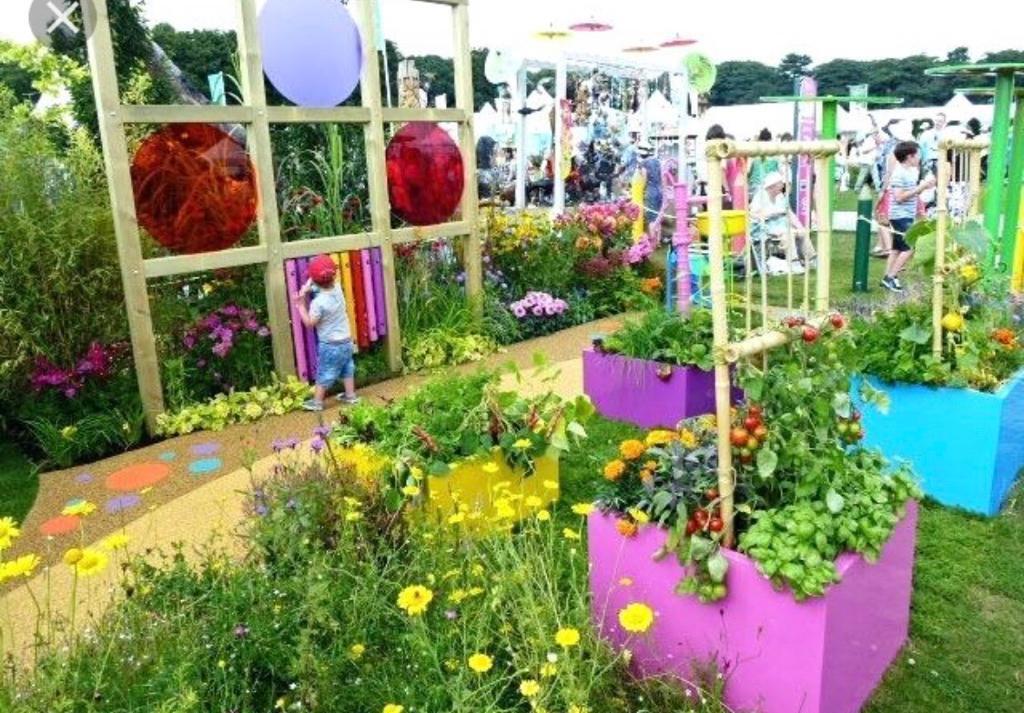 Gardening items for a children s sensory garden in for Garden design ideas for disabled