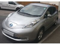 Nissan Leaf Acenta (Silver) 6.6kw charger 2p per mile motoring