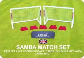Samba Football Goal Set BRAND NEW