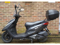 yamaha Vity 125, good condition with extras
