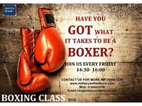 Boxing class for beginners