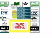 TRAFFIC MARSHALL/ BANKSMAN £35 /FIRE MARSHALL £25 TRAINING IN STRATFORD(EVERYDAY , 365 DAYS A YEAR)