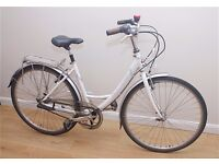 LADIES BIKE RALEIGH CAPRICE LOOP FRAME REALLY SMOOTH AND LOVELY RIDE ONLY