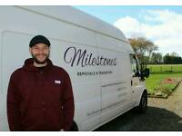 Milestones Removals Kinross/Perth/Fife/ Fully Insured/Prompt, Professional & Competitive