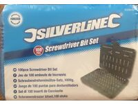 Silverline 100 piece Screwdriver Bit Set
