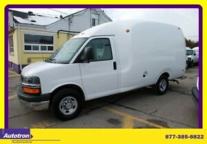 2013 Chevrolet Express 3500 Bubble Van arrow cell body 1 ton, ac