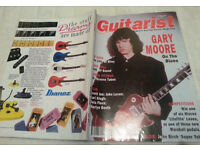 Vintage Guitarist magazine Featuring Gary Moore March 1992