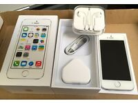 IPHONE 5s 16GB EE T-MOBILE VIRGIN WARRANTY & SHOP RECEIPT