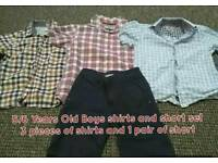 4/5 years old boy shirts and a short