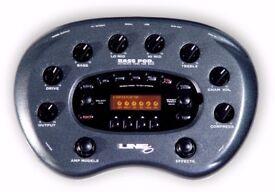 Line 6 BASS POD XT Amp Modeller/DI Box/Multi-FX, new in box