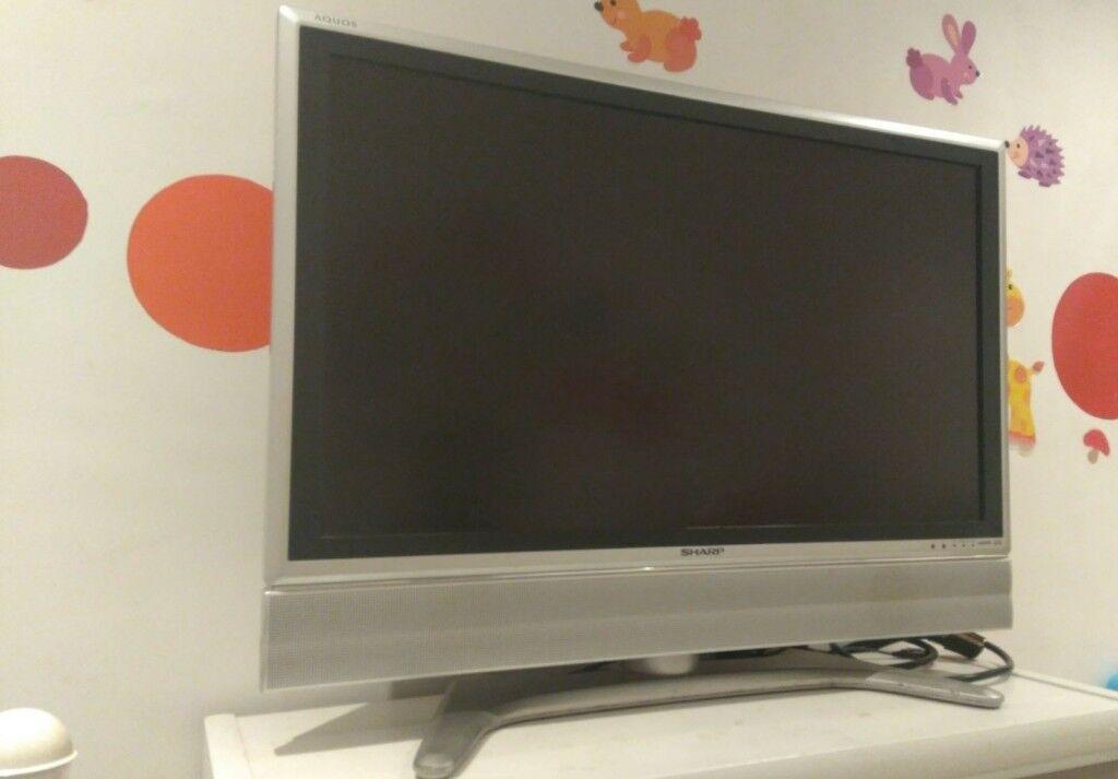 "37"" SHARP AQUOS LC-37GA6E LCD TV"