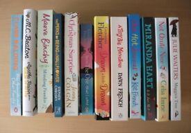 Lot of 12 Books including Giovanna Fletcher, Jenny Colgan, Celia Imrie and Dawn French novel, humour
