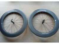 Parcours Chrono Carbon Clincher Wheelset (Tube / Tubeless) with Shimano / SRAM 11 Speed Hub