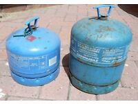 Gas bottles Campingaz 904 & 907, camping gas REDUCED